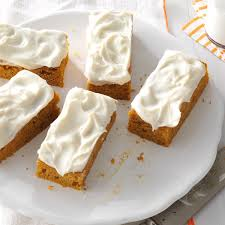 Libbys Pumpkin Oatmeal Bars by Pumpkin Bars Recipe Taste Of Home