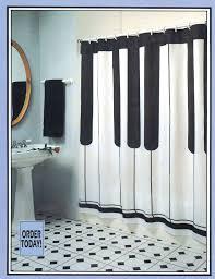 Buy Keyboard Shower Curtain Music Gift Music Novelty