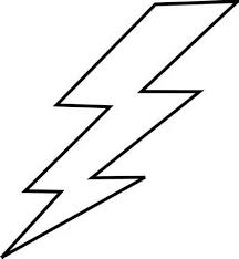 Lightning Bolt Template