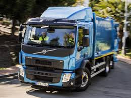 Volvo FE 320 6×2 Rigid Sleeper Cab Refuse Truck '2013–pr.
