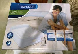 Aerobed Raised Queen With Headboard by Aerobed Bag Beds Mattresses Aerobed Pillowtop Queen Aero Bed W