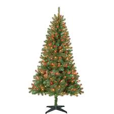 Flocked Christmas Tree Walmart by Pictures On Christmas Tree Colored Lights Homemade Ideas For
