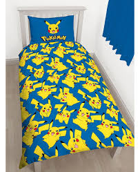 Pokémon Pikachu Single Duvet Cover and Pillowcase Set