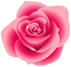 Pink Flower Clipart Large 6
