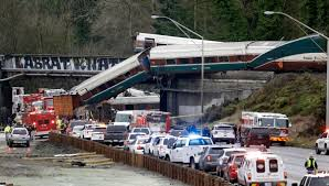 100 Little Sisters Truck Wash Amtrak Train Hurtles Off Overpass State Patrol Reports Three