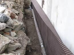 étanchéité d un mur de soubassement