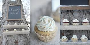 Burlap Shelves Diy Cupcake Stands Hanging From Tree Vegan
