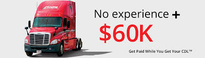 100 Truck Jobs No Experience CDL Training Driving Schools Roehl Transport Roehl