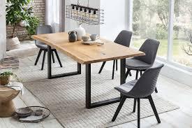esszimmer essgruppe 5 tlg natur grau günstig möbel küchen büromöbel kaufen froschkönig24