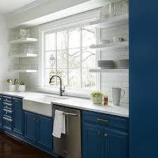 blue kitchen theme design ideas