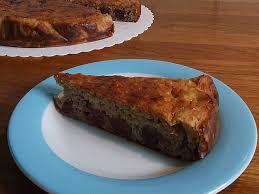 quark kirsch kuchen mit haferflocken