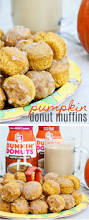 Pumpkin Dunkin Donuts by Easy Pumpkin Donut Muffins For Fall Tonya Staab