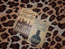 Agatha Christie Book Collection and writers corner