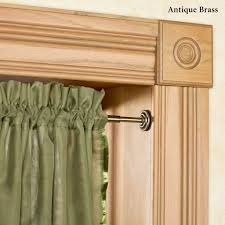 spring tension curtain rods extra long rod on modern home