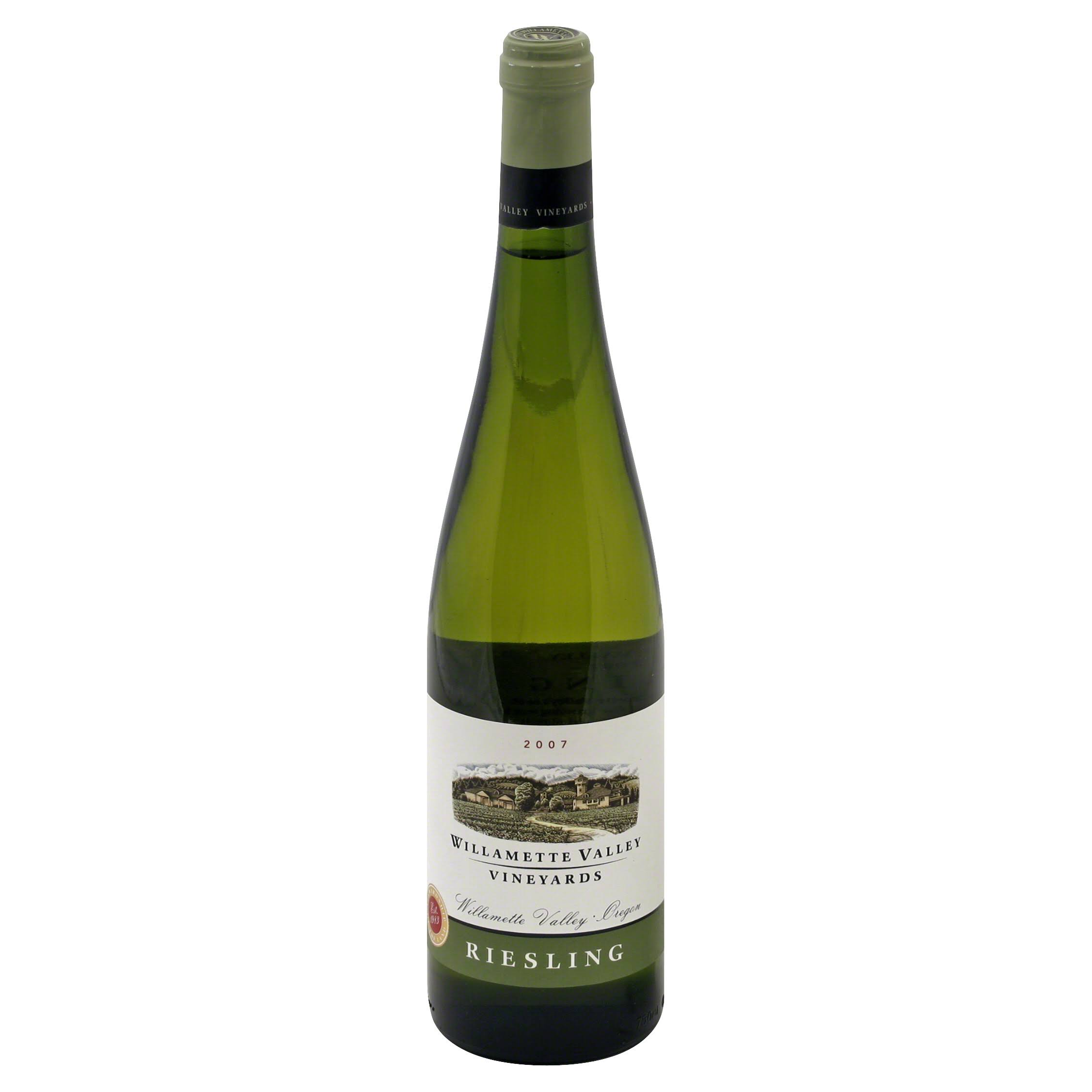 Willamette Valley Vineyards Riesling, Oregon, 2007 - 750 ml
