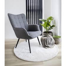 flagstaf teppich ø120 cm weiss rund design läufer wohnzimmer esszimmer modern