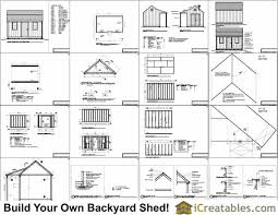 colonial shed plans free diy