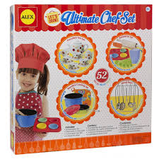 Dora The Explorer Kitchen Set by Alex Toys Let U0027s Cook Ultimate Chef Set Alexbrands Com