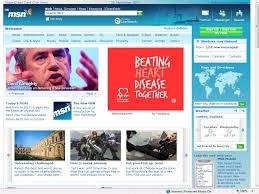 New MSN UK Homepage Redesign 2007