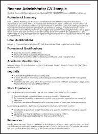 Admin Job Cv