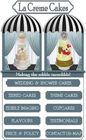 La Creme Cakes Wedding Theme