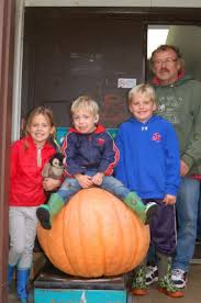 Largest Pumpkin Contest Winners by Largest Pumpkin At Preeceville Tops The Scale At 134 Pounds