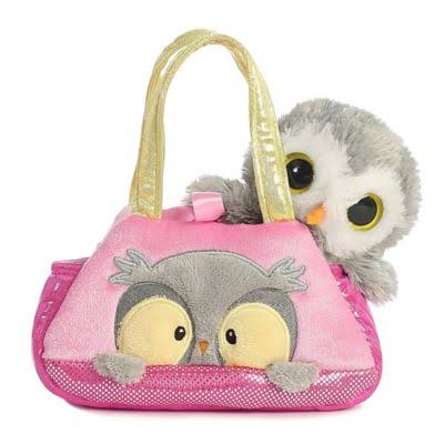 Aurora Peek a Boo Owl Fancy Pals Pet Carrier