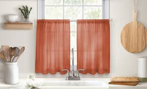 Kitchen Drapery Ideas 20 Curtain Ideas For Your Home The Home Depot