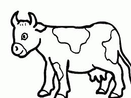 Vache 140 Animaux Coloriages à Imprimer