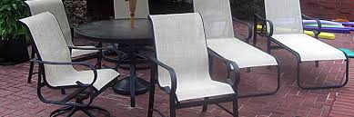 Winston Patio Furniture Replacement Slings by Carter Grandle Replacement Slings And Patio Furniture Refinishing