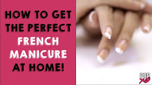 How To Get French Manicure At Home   Nail Art Designs - POPxo ... Nail Art For Beginners 20 No Tools Valentines Day French How To Do French Manicure On Short Nails Image Manicure Simple Nail Designs For Anytime Ideas Gel Designs Short Nails Incredible How Best 25 Manicures Ideas Pinterest My Summer Beachy Pink And White With A Polish At Home Tutorial Youtube Tip Easy Images Design Cute Double To Get Popxo