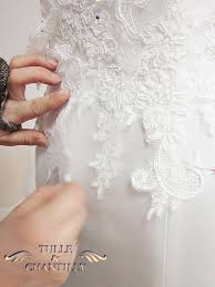 Design Your Wedding Dress} Custom Made Strappy Tiered Lace Wedding
