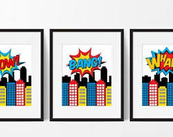 Vintage Superhero Wall Decor by 13 Best Super Hero Wall Art Images On Pinterest Superhero Wall