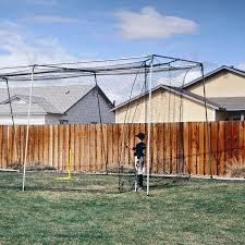 ATEC Backyard Batting Cage - 40L Ft. | Hayneedle How Much Do Batting Cages Cost On Deck Sports Blog Artificial Turf Grass Cage Project Tuffgrass 916 741 Nets Basement Omaha Ne Custom Residential Backyard Sportprosusa Outdoor Batting Cage Design By Kodiak Nets Jugs Smball Net Packages Bbsb Home Decor Awesome Build Diy Youtube Building A Home Hit At Details About Back Yard Nylon Baseball Photo