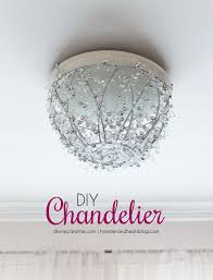 How To Make A DIY Chandelier In An Hour