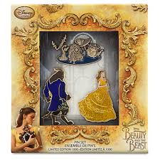 Beauty and the Beast Live Action Pin Set Disney Pins Blog