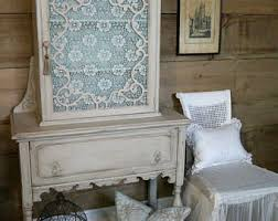 Shabby Chic Dining Room Hutch by Buffets U0026 China Cabinets Etsy