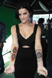 NBC s Blindspot Jaimie Alexander s real tattoo Business Insider