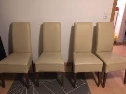 esszimmer stühle leder