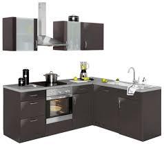 wiho küchen winkelküche brüssel mit e geräten stellbreite 220 x 170 cm mit 38 mm starker arbeitsplatte kaufen otto