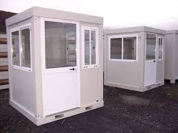 bureau préfabriqué occasion postes de garde modulaires pour industrie et services