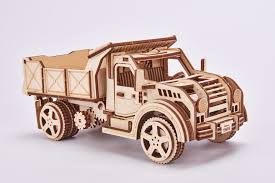 100 Kit Trucks To Build Truck Wooden Model Kits Eco Friendly 3d Puzzle By Wood Trick