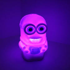 Battery Powered Lava Lamps by Changing Color Minions Model Led Night Light Lamp Powered By Ag13