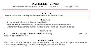 Image For Good Resume Objectives College Students