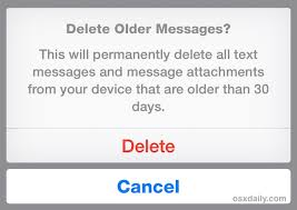 How to Automatically Delete Old Messages from iPhone in iOS