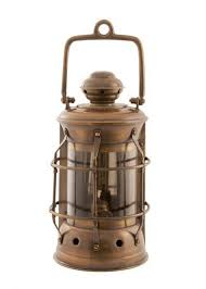 Aladdin Caboose Wall Lamp by Antique Brass Masthead Lantern 11 Inch Oil Lantern Antique