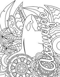 Free Printable Swear Word Coloring Page