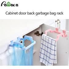 support sac poubelle cuisine sacs à ordures de cuisine rack de stockage de support de sac