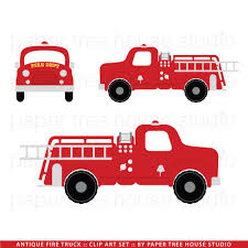 100 Truck Images Clip Art Fire Fire Station Vintage Fire Etsy