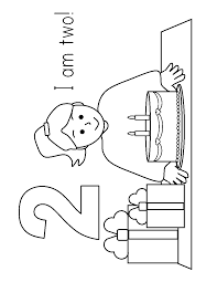 Bible Coloring Pages For 3 Year Olds Shapes Two Colouring Page